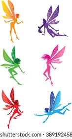Fairy Clip Art - Vector Illustration