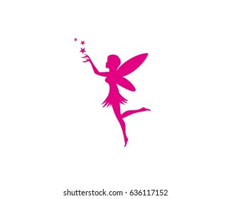 image about Free Printable Fairy Silhouette named Fairy Silhouette Visuals, Inventory Pictures Vectors Shutterstock