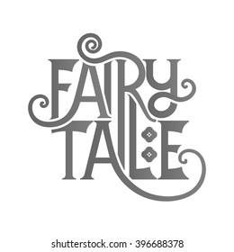 Fairy Tale lettering