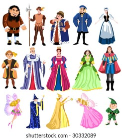 Fairy Tale Characters Images, Stock Photos & Vectors