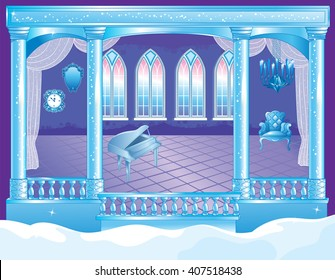 Fairytale Ice Palace Ballroom