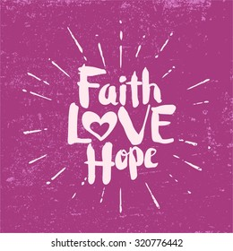 Faith Hope Love Images Stock Photos Vectors Shutterstock