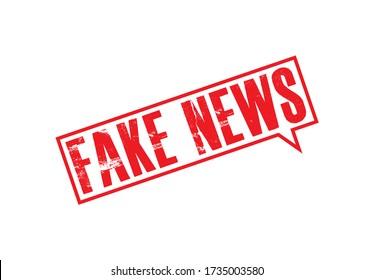 Fake News Stamp, fake news