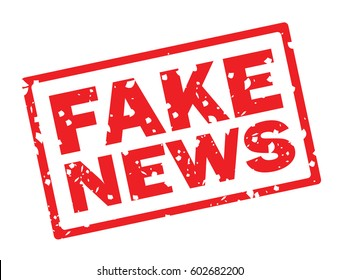 fake news stamp icon sign