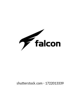 falcon attack for preium logo vector