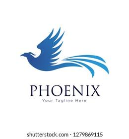 Falcon Eagle Bird Logo Template vector icon - Vector