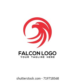 falcon eagle logo vector
