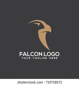 falcon eagle logo vector
