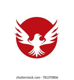 Falcon Wings Logo Template