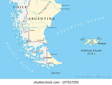 Cape Horn On South America Map.Cape Horn South America Stock Vectors Images Vector Art