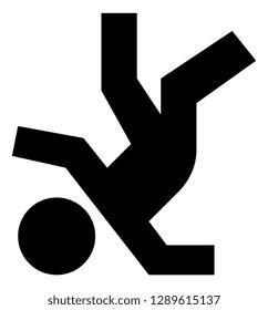 Fall Over Fail Vector Icon