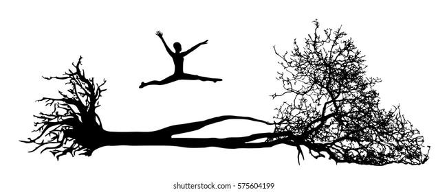 Fallen Tree Clip Art
