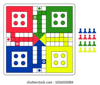 family board game for 4 players ludo