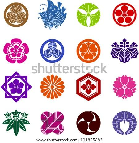 Family Crest Japan Stock Vector Royalty Free 101855683 Shutterstock