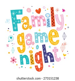 Family Game Night Images Stock Photos Vectors Shutterstock