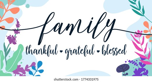 Family Is Everything Images Stock Photos Vectors Shutterstock
