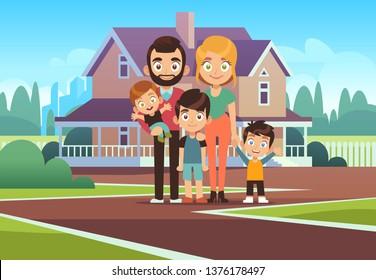 Vectores, imágenes y arte vectorial de stock sobre Family