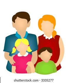 Family Icon - Vector