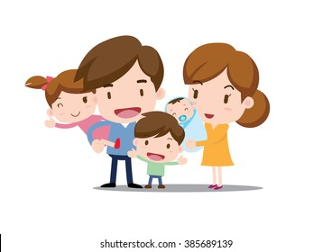 Family illustration _ my family