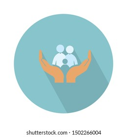 family insurance icon - From web, universal and Miscellaneous Icons set