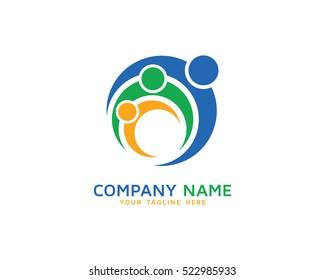 Family Logo Design Template