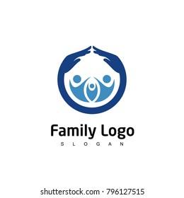 Family Logo, People Care Logo