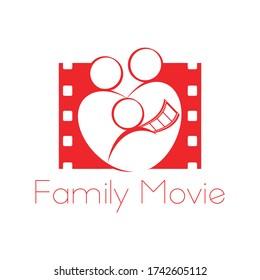 Family Movie logo, film, television logo