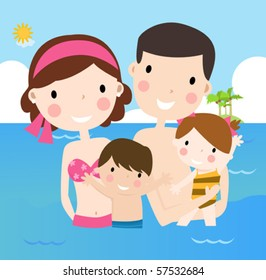 Family on vacations