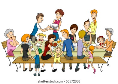 Family Reunion - Vector
