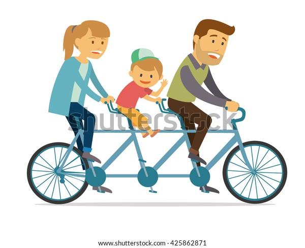 Tandem bike aggancio