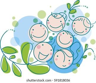 Family of smiles