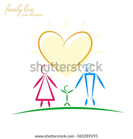family template logo design vector sign stock vector royalty free