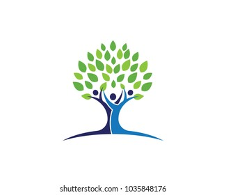 Friendship tree images stock photos vectors shutterstock family tree symbol icon logo design template illustration maxwellsz