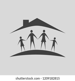 Family vector icon