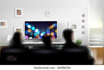 Cuarto De Tv Stock Vectors, Images & Vector Art | Shutterstock
