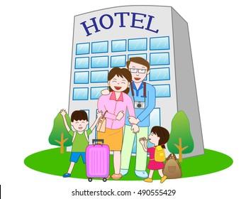 In a Motel / Hotel