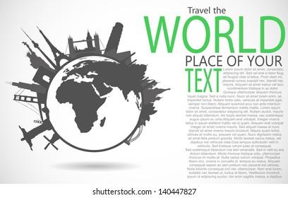 Famous monuments around world