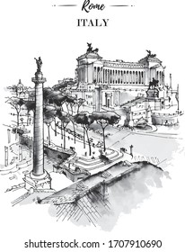 famous sightseeing silhouette,  coloring page