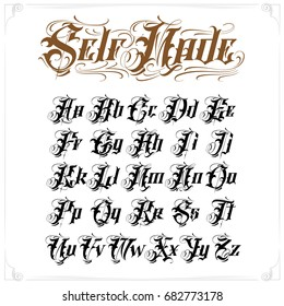 Old English Script Images, Stock Photos & Vectors | Shutterstock