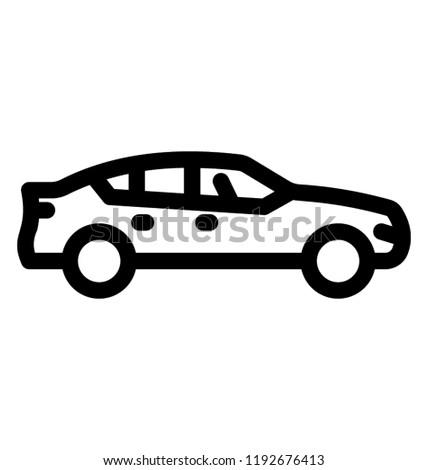 Fancy Car High Price Luxury Car Stock Vector Royalty Free
