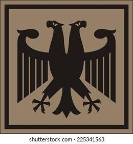 Fantastic Imperial eagle