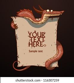 Fantasy banner 03, vector