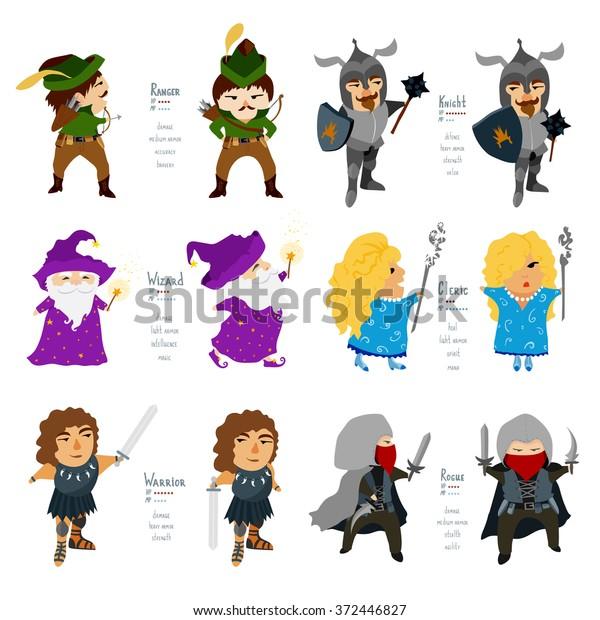Fantasy Cartoon Character Art
