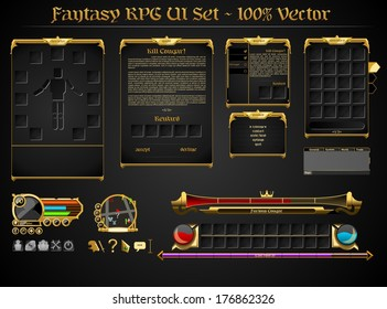 Fantasy RPG UI Set