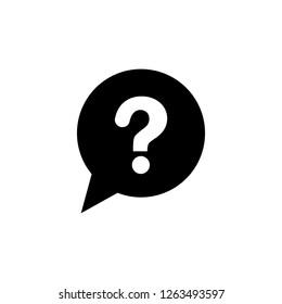 FAQ icon. Editable vector 64x64 Pixel.