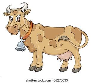 Farm - Cartoon Cow