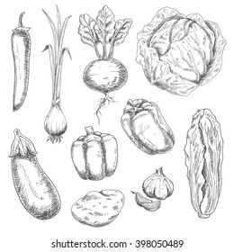 Vegetables Drawing Images Stock Photos Vectors Shutterstock