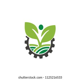 FARM NATURE INDUSTRIES PEOPLE LOGO
