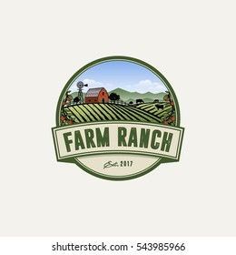 farm ranch logo