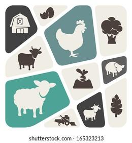 Farm theme background